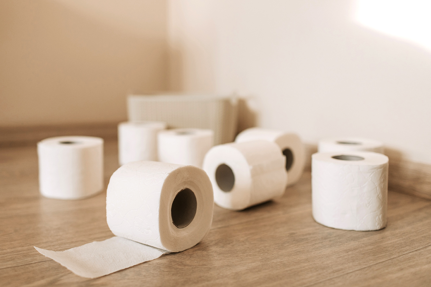 Stocking Up on Toilet Paper