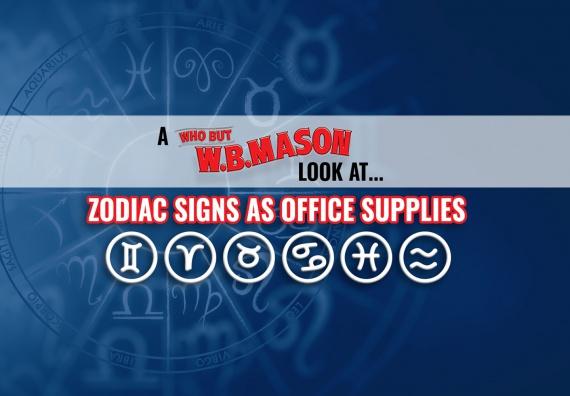 Zodiac Signs as Office Supplies