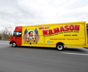 WB Mason Truck