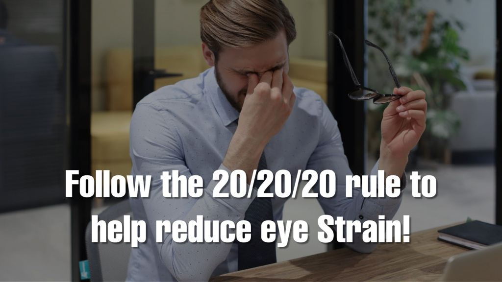 Help Reduce Eye Strain