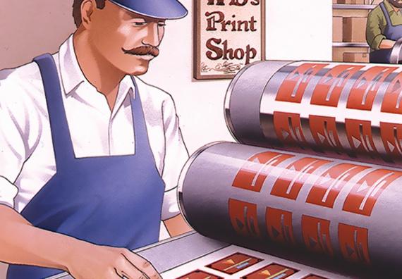 WB Mason Learning Stamp Making