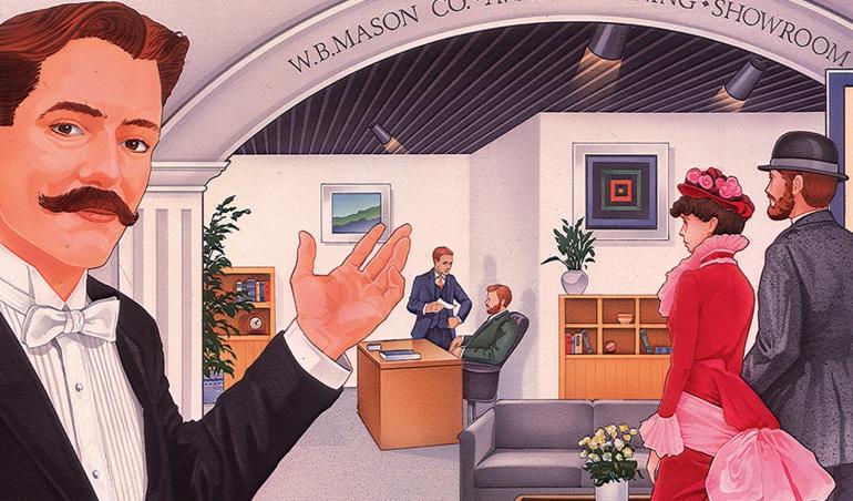 WB Mason Welcoming